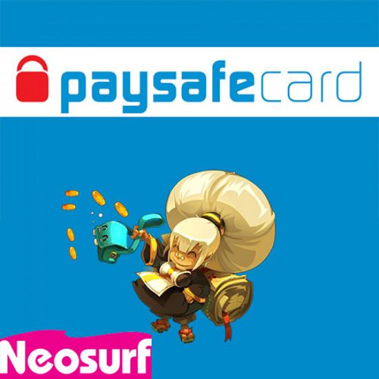 Acheter des kamas par paysafecard ou Neosurf